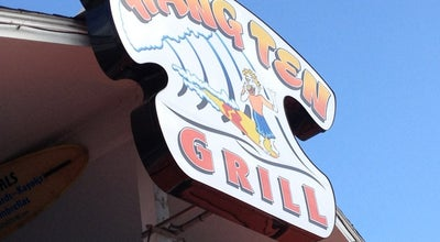 Photo of American Restaurant Hang Ten Grill at 308 Lake Park Blvd S, Carolina Beach, NC 28428, United States