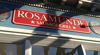 Photo of Hot Dog Joint Rosamunde at 545 Haight St, San Francisco, CA 94117, United States