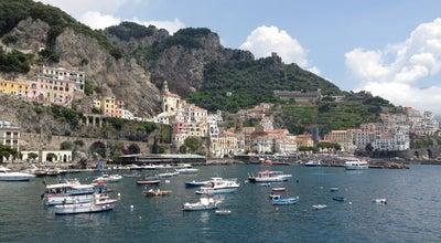 Photo of Beach Costa Amalfitana at Amalfi, Italy