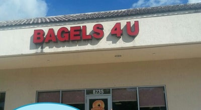 Photo of Bagel Shop Bagels 4 U at 8735 Stirling Rd, Cooper City, FL 33328, United States