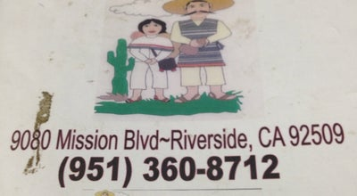 Photo of Mexican Restaurant Dos Pablos at 4252 Glen St, Riverside, CA 92509, United States