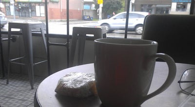Photo of Restaurant Grinder Coffee at 1021 Gerrard St E, Toronto M4M 1Z6, Canada