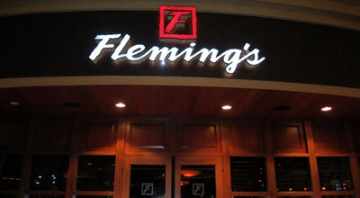 Photo of Steakhouse Fleming's Prime Steakhouse & Wine Bar at 103 Summit Blvd, Vestavia, AL 35243, United States