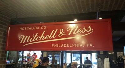 Photo of Clothing Store Mitchell & Ness at 1201 Chestnut St, Philadelphia, PA 19107, United States