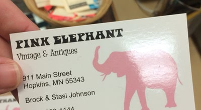 Photo of Antique Shop Pink Elephant Vintage & Antiques at 911 Mainstreet, Hopkins, MN 55343, United States
