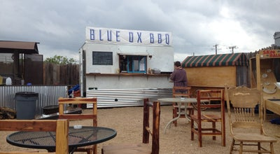 Photo of Food Truck Blue Ox BBQ Truck at 1505 Town Creek Dr, Austin, TX 78741, United States