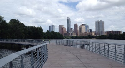 Photo of Pedestrian Plaza Lady Bird Lake Boardwalk Trail at Austin, TX, United States