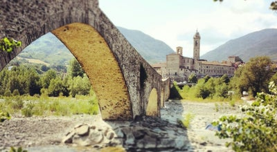 Photo of Bridge Ponte Vecchio (Ponte Gobbo) at Bobbio, Italy