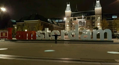 Photo of Public Art I Am Sterdam sign at Netherlands