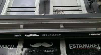 Photo of Cafe Café Moustache at Grote Markt 27, Roeselare 8800, Belgium