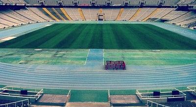 Photo of Stadium Estadi Olímpic Lluís Companys at Passeig Olímpic, 17-19, Barcelona 08038, Spain
