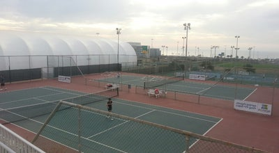 Photo of Tennis Court Israel Tennis Center at Haifa, Israel