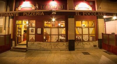 Photo of Italian Restaurant Il Focolare at C/ Cabruñana, 42, Aviles 33400, Spain