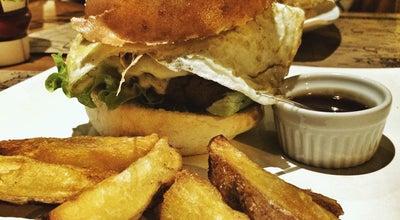 Photo of Burger Joint Hamburgueria do Barão at Rua Barão De Camargo, 654, Uberlândia 38400-160, Brazil