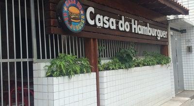 Photo of Burger Joint Casa do Hamburger - China at Avenida Frei Gaspar 51, São Vicente, SP, Brazil