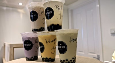 Photo of Bubble Tea Shop Brew Box Bubble Tea at 120 Islington High St, London N1 8EG, United Kingdom