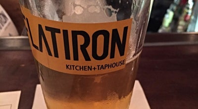 Photo of Steakhouse Flatiron Kitchen + Taphouse at 212 S Main St, Davidson, NC 28036, United States