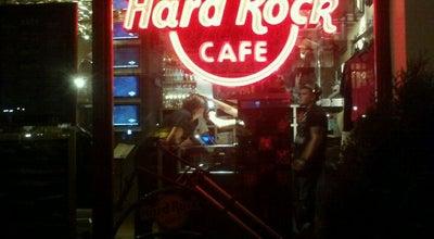 Photo of American Restaurant Hard Rock Cafe Krakow at Plac Mariacki 9, Kraków 31-042, Poland