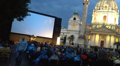 Photo of Movie Theater Kino unter Sternen / Cinema under the Stars at Karlsplatz, Wien 1010, Austria