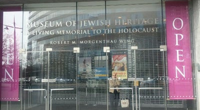 Photo of History Museum Museum of Jewish Heritage – A Living Memorial to the Holocaust at 36 Battery Place, New York, NY 10280, United States