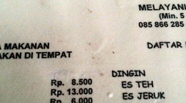 """Photo of Arcade Warung Penyet Lesehan """"MAS PUR 3"""" at Jl. Banjarsari No.9, Semarang, Indonesia"""
