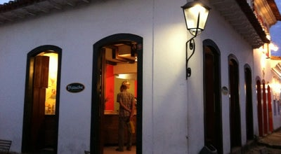 Photo of Ice Cream Shop Pistache Premium Gelato at R. Do Comércio, 25, Paraty 23970-000, Brazil