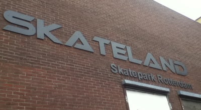 Photo of Skate Park Skateland at Piekstraat 45, Rotterdam, Netherlands