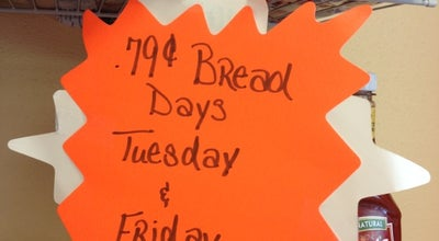 Photo of Bakery Captain John Derst's Bread Discount Bakery Store at 3338 Peach Orchard Rd, Augusta, GA 30906, United States