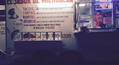 Photo of Food Truck El Sabor de Michoacan at 3400-3498 W Ashlan Ave, Fresno, CA 93722, United States
