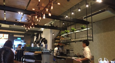 Photo of Cafe The Populus Coffee & Food Co. at 146 Neil Road, Singapore 088875, Singapore