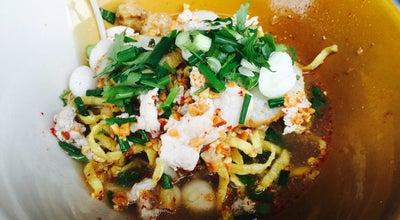 Photo of Ramen / Noodle House ก๋วยเตี๋ยวหมูต้มยำ<หัวถนน> at Muang Saphan Buri, Thailand