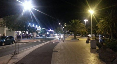Photo of Beach Boulevard Puerto Del Carmen at Spain