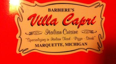 Photo of Pizza Place Villa Capri at 2100 Us Hwy 41, Marquette, MI 49855, United States