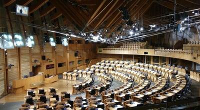 Photo of Capitol Building Scottish Parliament at Horse Wynd, Edinburgh EH99 1SP, United Kingdom