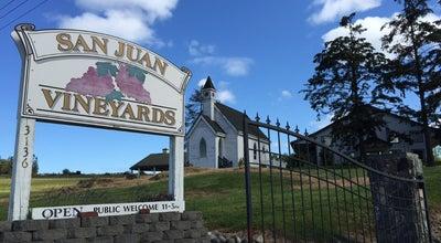 Photo of Wine Bar San Juan Vineyard at Roche Harbor Drive, Friday Harbor, WA 98250, United States
