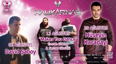 Photo of Nightclub Halikarnas The Club at Cumhuriyet Cad., Muğla 48400, Turkey