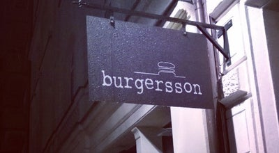 Photo of Burger Joint Burgersson at Skanstorget 4, Göteborg 411 22, Sweden