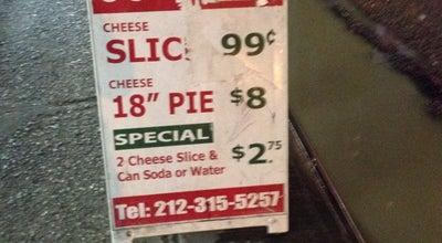 Photo of Italian Restaurant Uzzal Express Pizzeria Incorporated at 301 W 43rd St, New York, NY 10036, United States