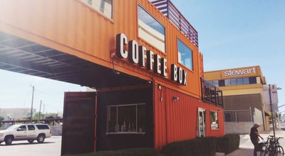 Photo of Coffee Shop Coffee Box at El Paso, TX, United States