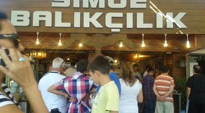 Photo of Fish and Chips Shop Simge Balıkçılık at Güzelbahçe Balıkçılar Çarçısı, izmir, Turkey