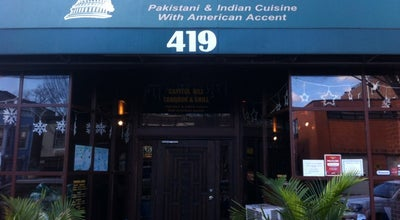 Photo of Indian Restaurant Capitol Hill Tandoor & Grill at 419 8th St Se, Washington, DC 20003, United States