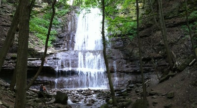 Photo of Trail Sherman Falls at Ancaster, ON, Canada