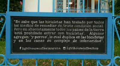 Photo of Cafe Lighthouse Coffee Shop & Micro Roastery at Matta 570, La Serena 1700000, Chile