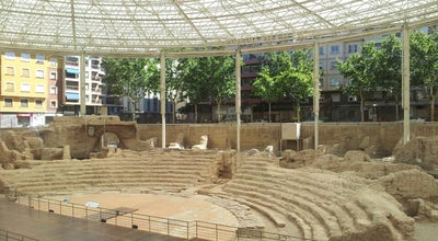 Photo of Historic Site Teatro Romano at C/ Verónica, Zaragoza 50001, Spain