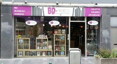 Photo of Bookstore Kazabulles at Rue De L'université, 11, Liège 4000, Belgium