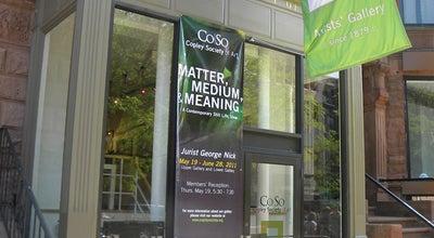 Photo of Art Gallery Copley Society of Art at 158 Newbury St, Boston, MA 02116, United States