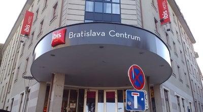 Photo of Hotel Ibis Bratislava Centrum at Zamocka 38, Bratislava 811 01, Slovakia