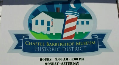 Photo of History Museum Chaffee Barbershop Museum at United States