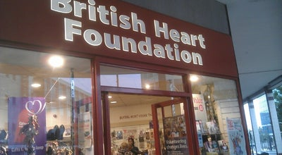 Photo of Thrift / Vintage Store British Heart Foundation at Pinstone Street, Sheffield S1, United Kingdom