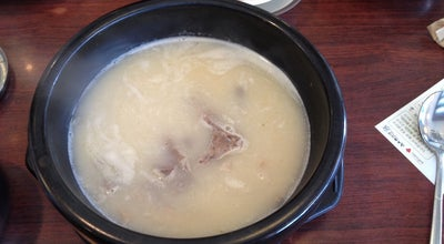 Photo of Korean Restaurant 신선설농탕 at 단원구 당곡로 12, 안산시, South Korea